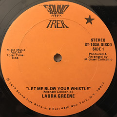 LAURA GREENE:LET ME BLOW YOUR WHISTLE(LABEL SIDE-A)