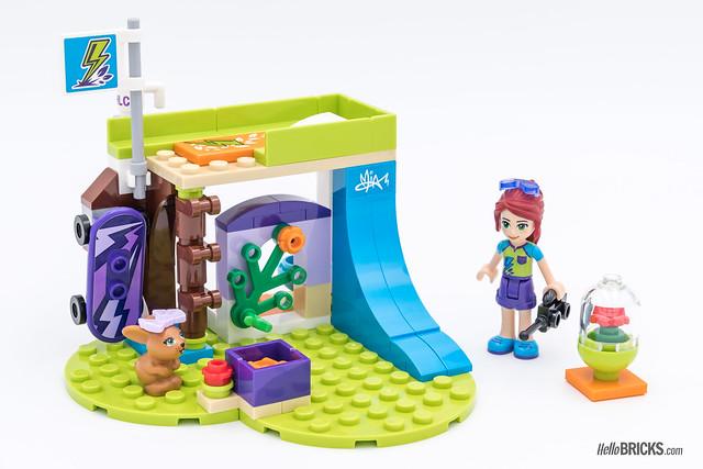 REVIEW LEGO Friends 2018 - LEGO 41327 Mia's Bedroom