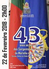 Cartaz 43º Aniversário