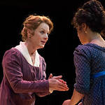 Sense and Sensibility at the Arvada Center - L-R: Jessica Robblee (Elinor Dashwood) and Regina Fernandez (Marianne Dashwood) Matt Gale Photography 2018