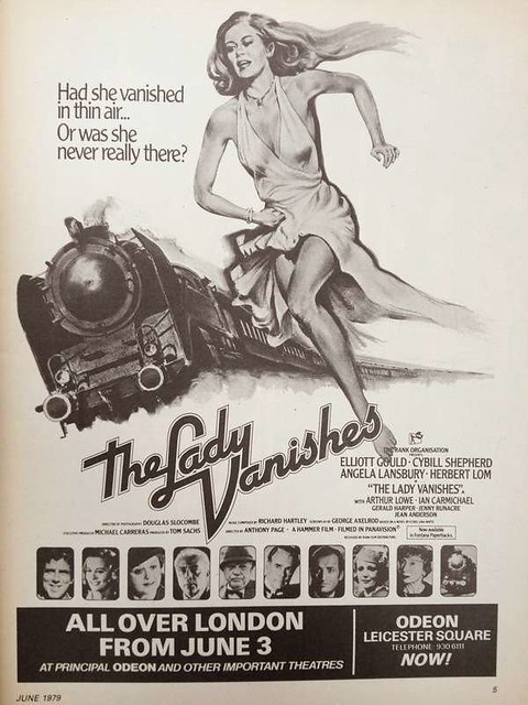 The Lady Vanishes - 1979 - Poster 2