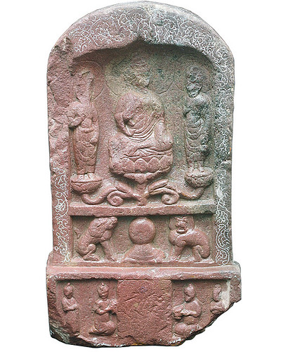 Buddhist stone carving