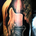candle-michael-cunliffe-mania-tattoo-blackpool