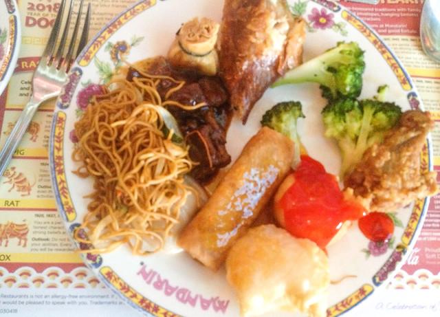 Lunch at Mandarin at Yonge & Eglinton