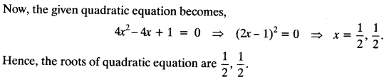 Quadratic Equations Chapter Wise Important Questions Class 10 Mathematics 37a