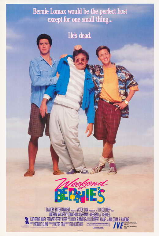 Weekend at Bernie's - Poster 2