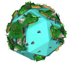 Pentakis icosidodecahedron world
