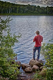 Fishing Hatchet Lake