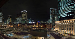 Tokyo Station night pano