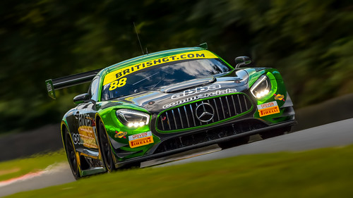 Team ABBA with Rollcentre Racing - Mercedes AMG GT3 #88