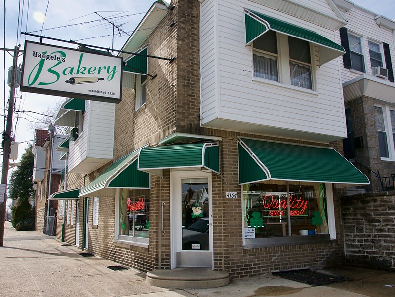 Haegele's Bakery Mayfair Philadelphia Retro Roadmap