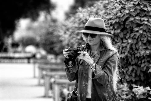 The Photographer, Jardin des Tuileries, Paris, 2015