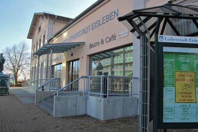 Eisleben railroad station reconstructed
