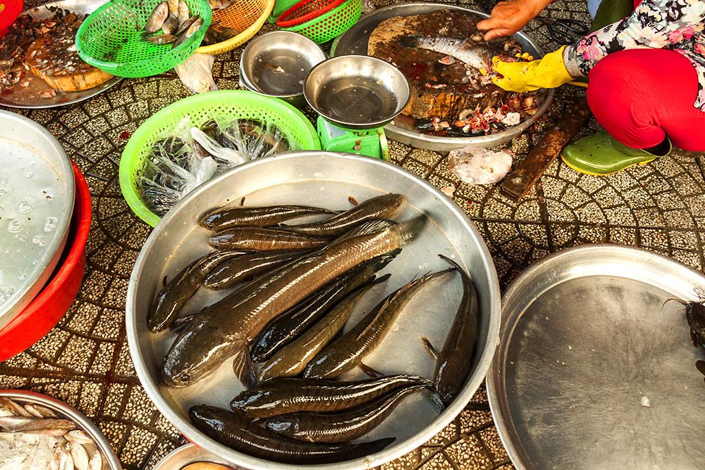 Fish monger--Saigon