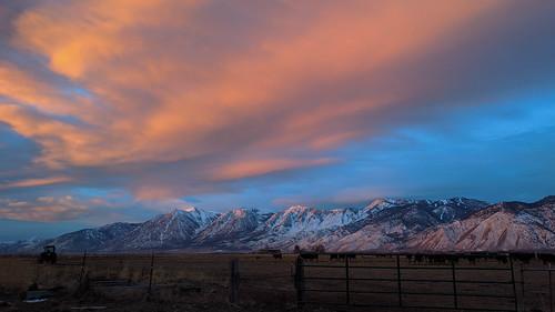 landscape sunrise minden nevada unitedstates us