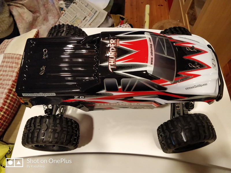 ZD Racing 10427 ラジコンカー 開封レビュー (42)