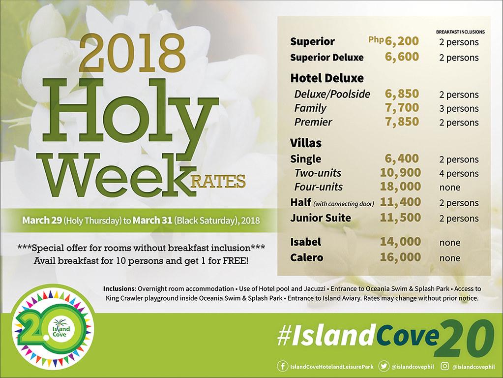 Island Cove 2018 promo