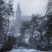 Dunfermline Abbey Snow Blizzard