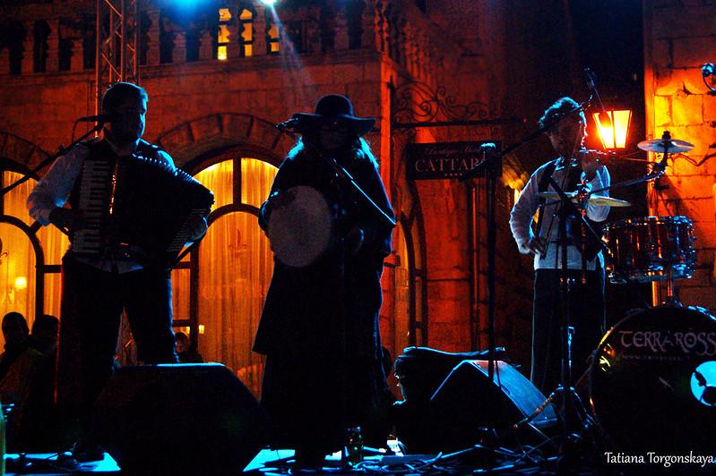 """Выступление группы """"Terraross"""" на концерте Зимнего карнавала"""