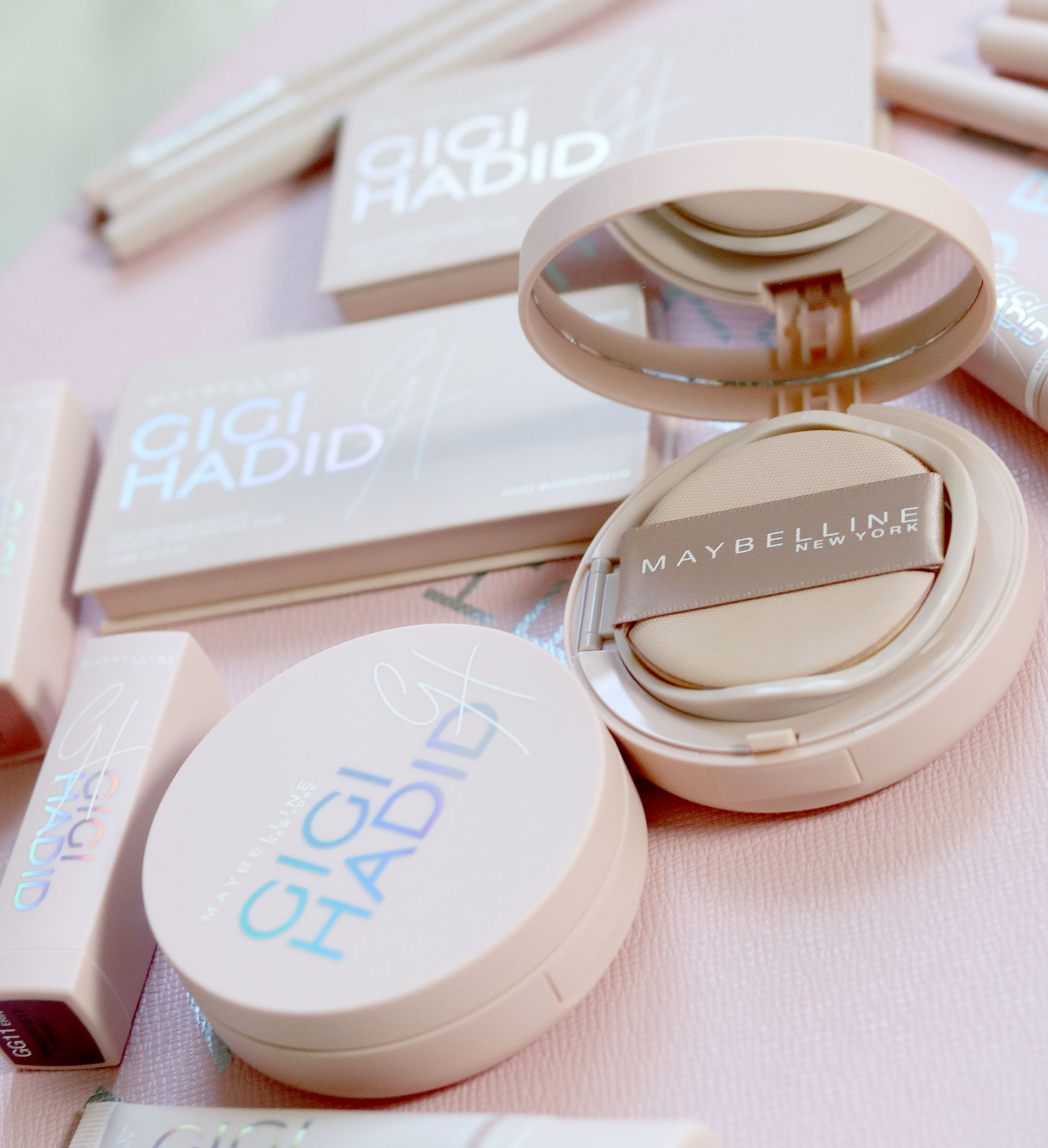 17 Gigi Hadid Maybelline Collection Review Swatches Photos - Gen-zel She Sings Beauty