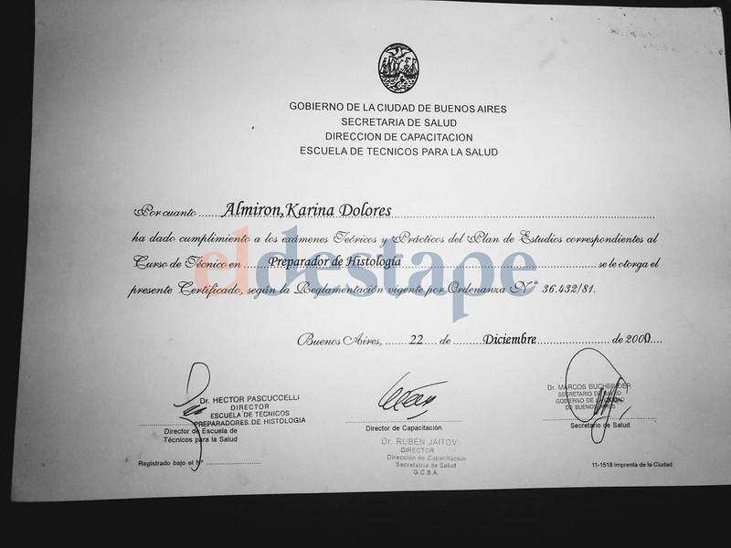 Diploma en Histología