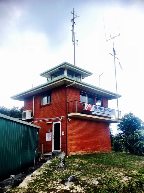 Marine Rescue Iluka - where we sat our VHF exam...