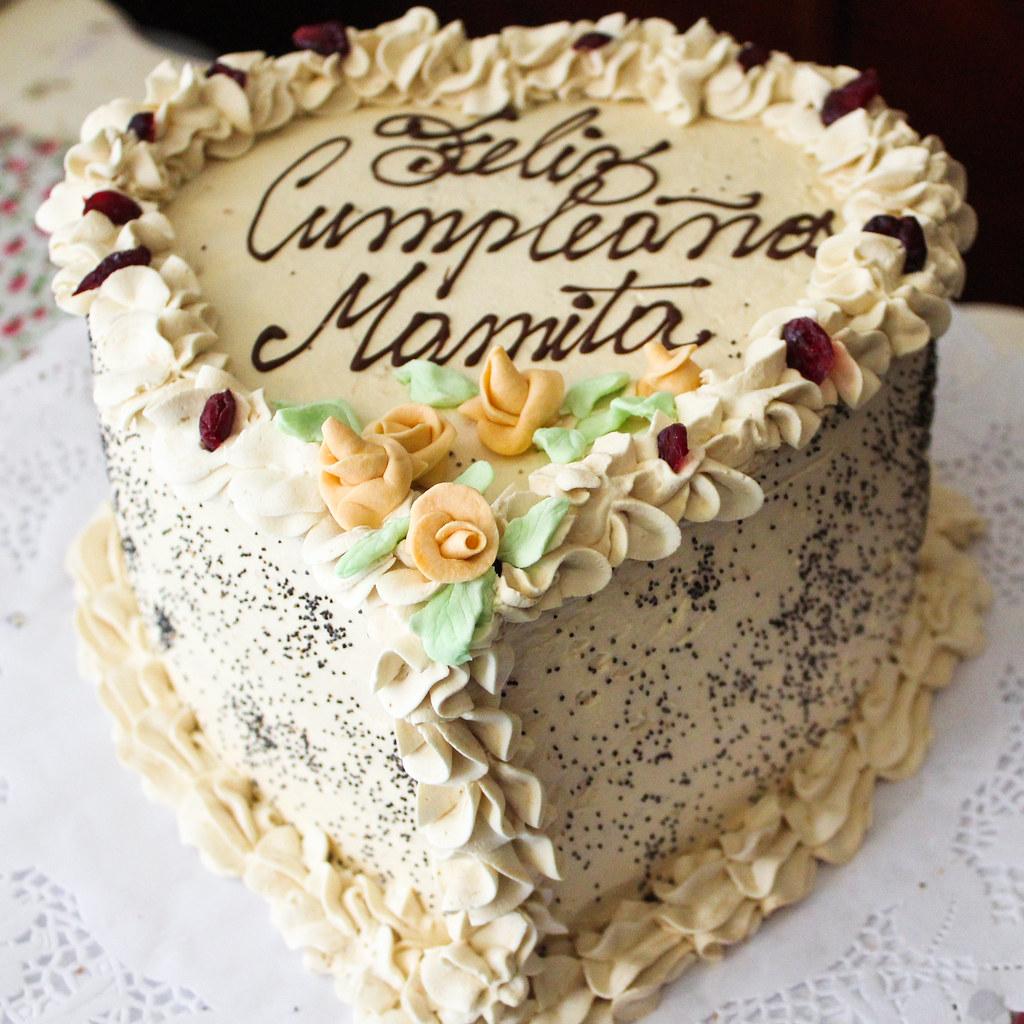 Tortas tradicionales de Omi Gretchen - Torta de amapola