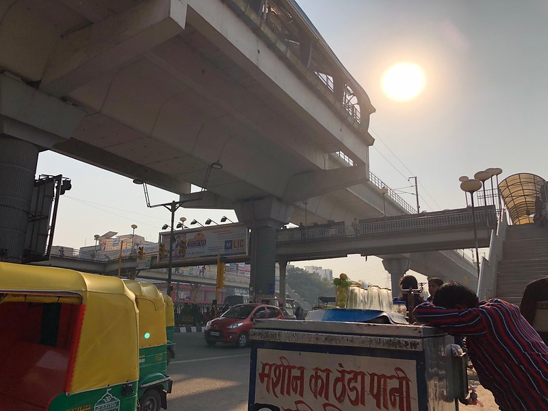 City Landmark - Metro Footbridge, Laxmi Nagar