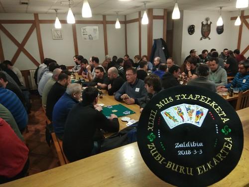 2018 ZUBI BURU elkarteko 43. mus txapelketa azkarra