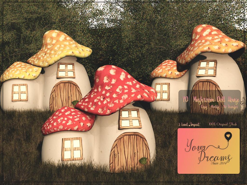 {YD} Mushroom Doll House - TeleportHub.com Live!