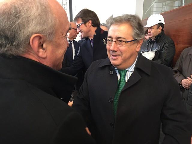 Visita de Juan Ignacio Zoido al Memorial de Víctimas