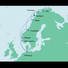 AIDAcara, Nordland 2017 - 1.Tag, Anreise
