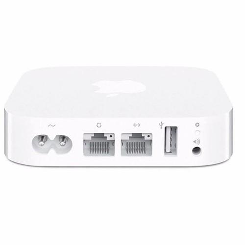 Apple Airport Express Base Station MC414ZP/A Price: VNĐ2749000.0 Apple Airport Express Base Station MC414ZP/A Apple Airport Express Base Station MC414ZP/A là thiết bị phát wifi của Apple sử dụng đa chức năng, mang đến cho bạn những tiện nghi thoải mái về