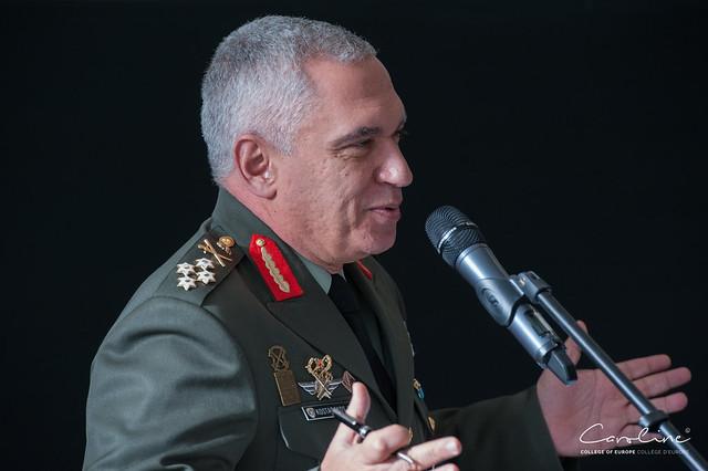 General Mikhail KOSTARAKOS.13 February 2018