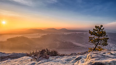 Winter Sunrise by Julia Altermann Photography