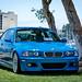 BMW e46 M3 in Laguna Seca Blue