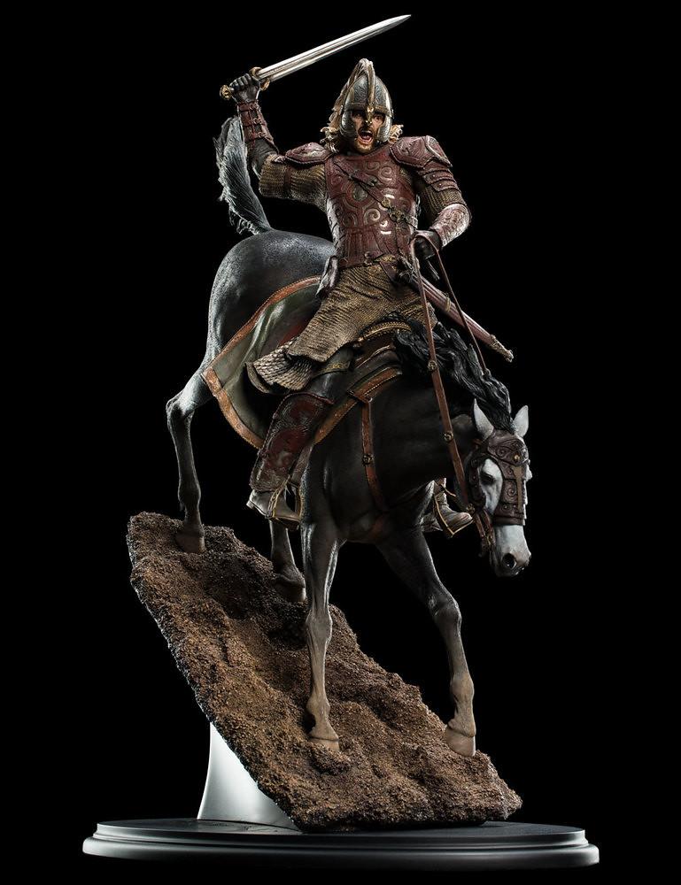 Rohirrim! To the King! WETA《魔戒二部曲:雙城奇謀》戰馬上的伊歐墨 Éomer on Firefoot 1/6 比例全身雕像作品