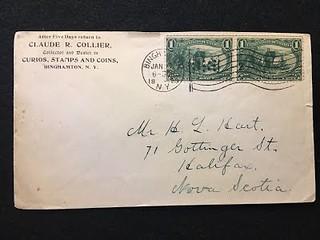 COLLIER, CLAUDE R-1_7_1899 letter