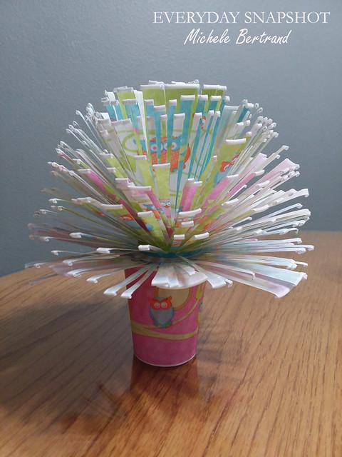 Dixie Cup Flower Bouquet 1