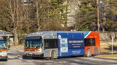 WMATA Metrobus 2010 New Flyer DE40LFA #6474