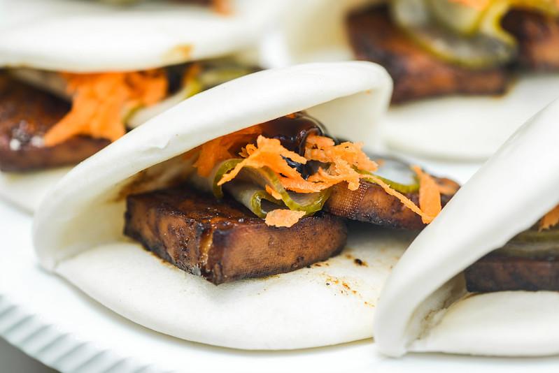 Char Siu Tofu Buns