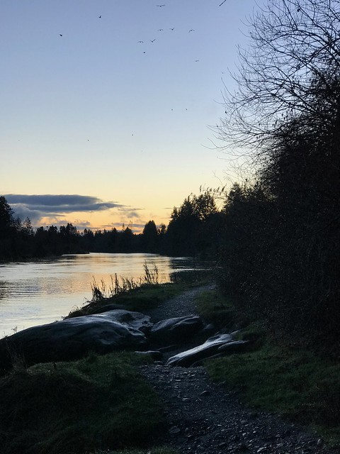 Nanaimo -  Hike sunset