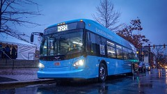 DASH Alexandria Transit Company New Flyer Xcelsior XE40 Demo
