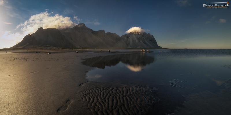 Vestrahorn reflection