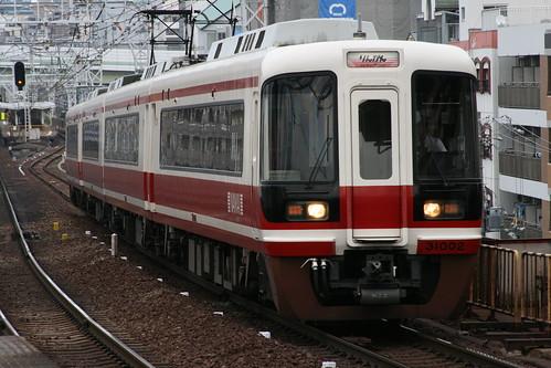 Nankai 31000 series in Shin-Imamiya.Sta, Osaka, Osaka, Japan /Dec 31, 2017