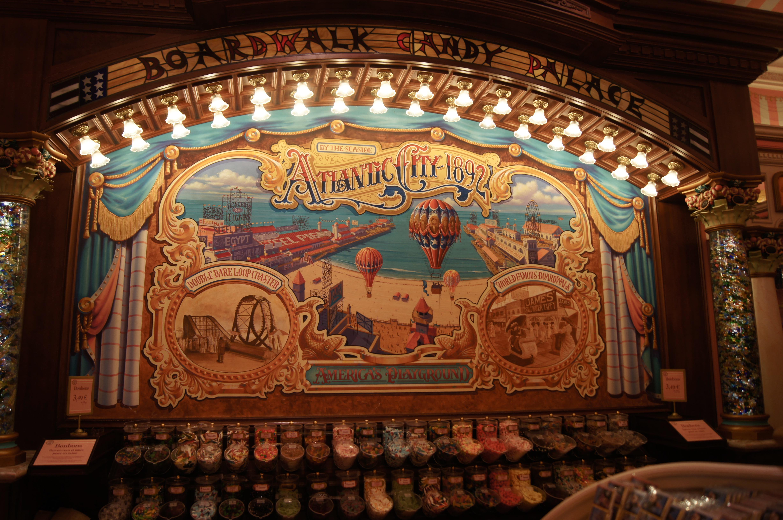 Disneyland Paris Trip - sweet counter