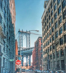 Brooklyn NY ~ NYC ~ Dumbo ~ Gair Building  ~ Inventor of the Cardboard Box ~  Old photo