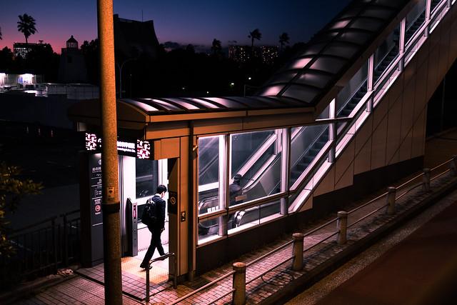 Destination home - Tokyo, Japan - Color street photography