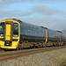 GWR 158951, Charfield