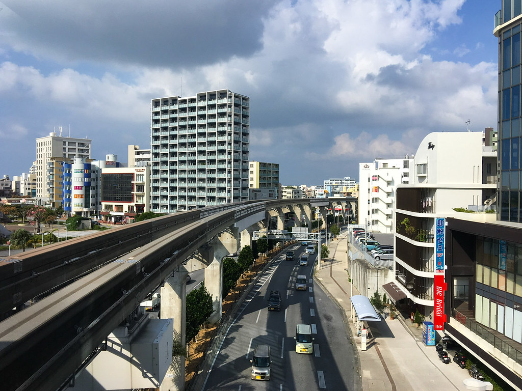 Monorail in Naha